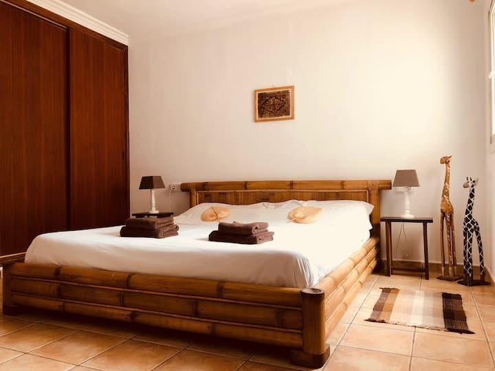 Double bedroom Bamboo room