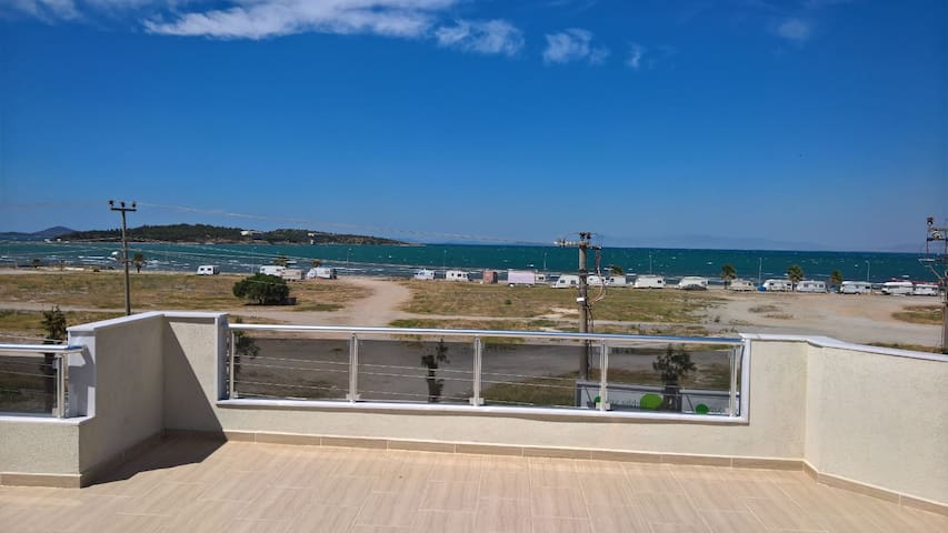 Urla Iskele appartment with sea view - Urla - Wohnung