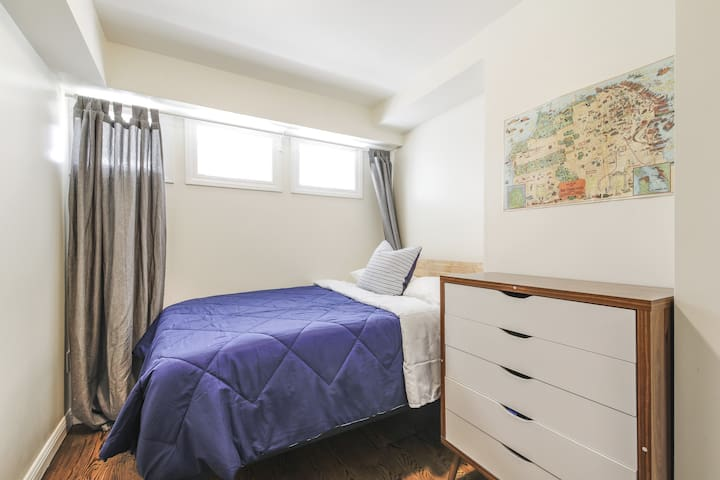 Nob Hill/furnished private room/ full bed