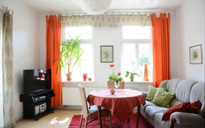 Charmante Wohnung in Fachwerkvilla