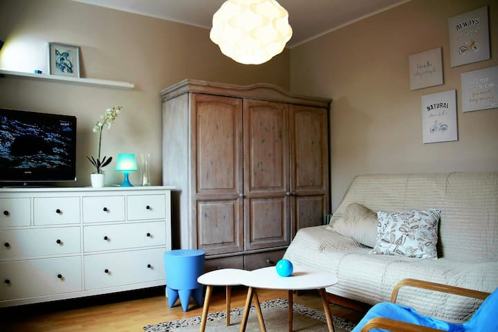 Studio  Pastelowe - spokojnie i blisko centrum - Gdynia - Apartamento