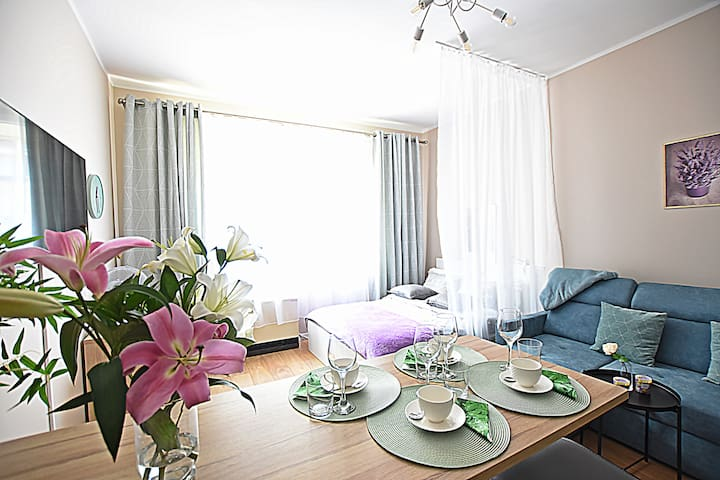 Beautiful new apartment for4 -the centre of Krakow