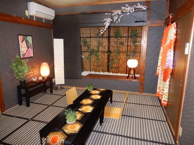 Small garden we calledTUBONIWA 坪庭 Japanese a traditional style small garden.