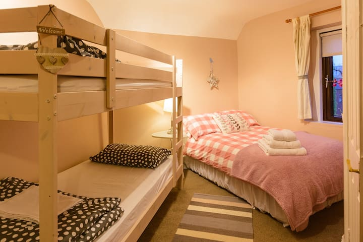 Family Room , Double bed & Bunk Bed