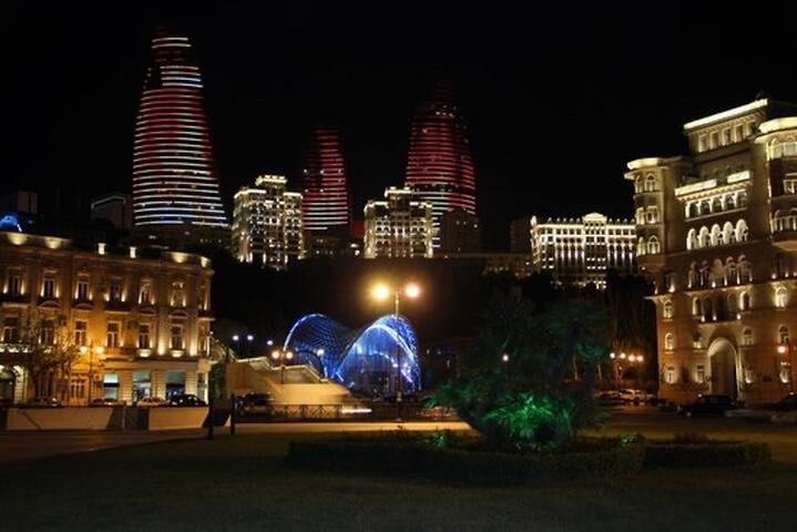Cozy apartment in center of Baku