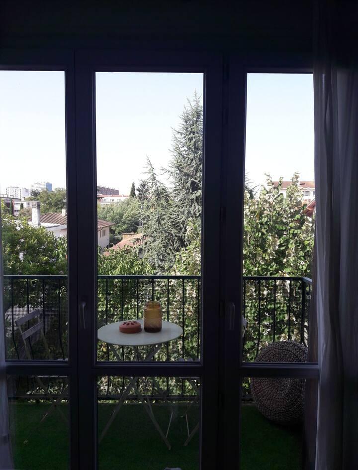 Appartement charmant et lumineux.
