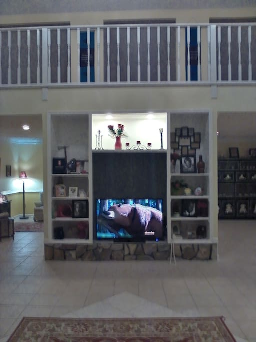 "Entertainment Center with 50"" TV"