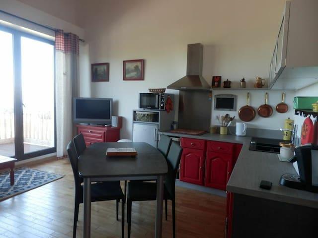 F2 L'Adret d'Azur à Valberg - Péone - Apartamento