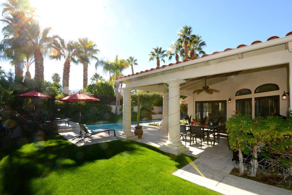 Oranj Palm Vacation Rental Home in South Palm Springs