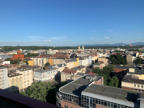 Apartment with the best view in Ostrava
