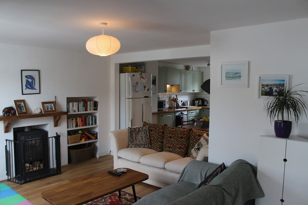 Newly renovated open plan living space