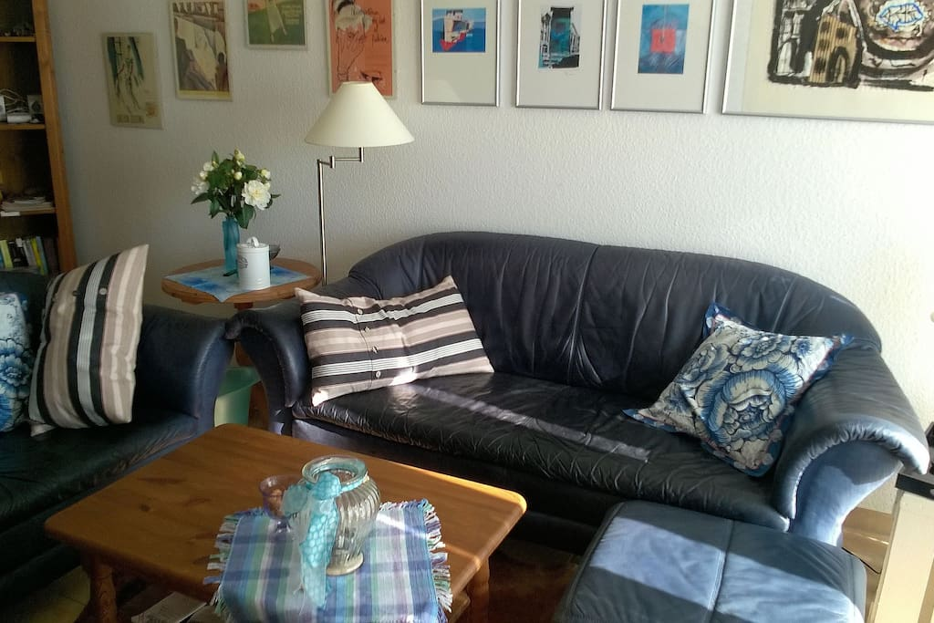 Wohnzimmer / Sofaecke
