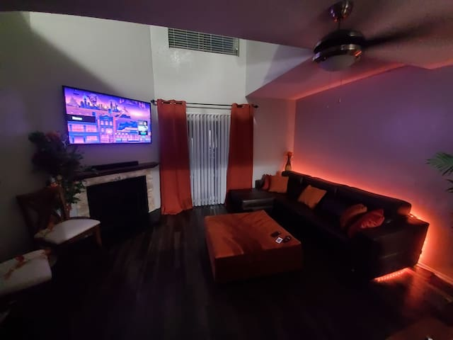 Light up the vibe. Loft space topia!