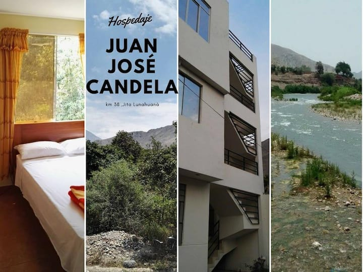 Casa Familiar JJ Candela- Lunahuaná, Cañete