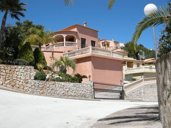Superbe villa avec vue imprenable