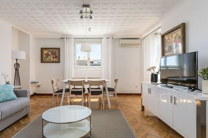 Estupendo apartamento en Madrid para 4PAX+WIFI