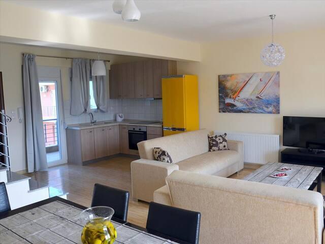 3 bedroom Maisonette in Leptokaria RE0598 - Leptokarya - Rekkehus