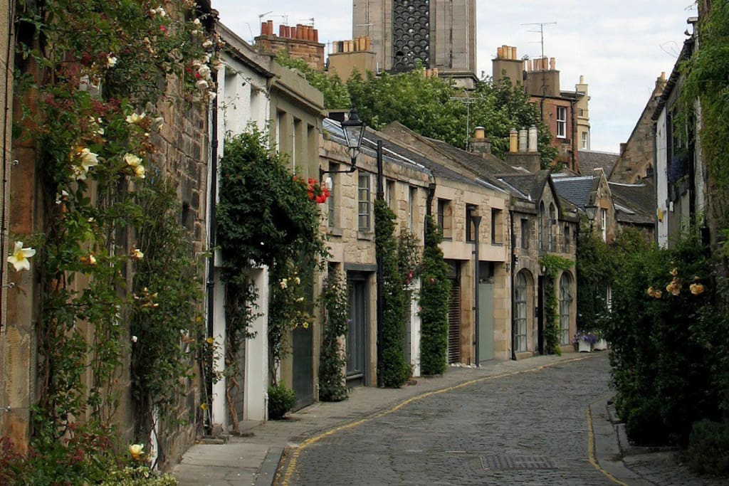 Stockbridge - the real Edinburgh Experience