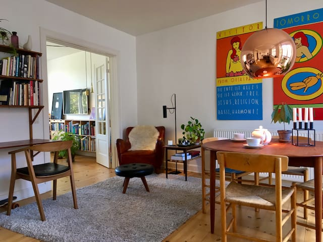 Bright and spacious apartment, center of Vesterbro