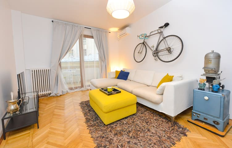 Calea Victoriei One, Historical City Two Rooms Ap.