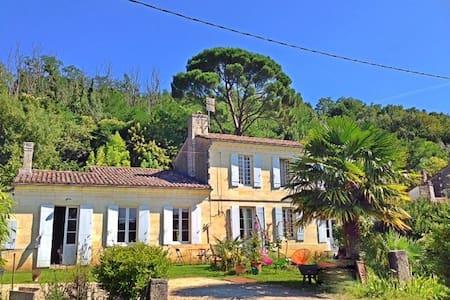 Le Pain de Lune Gîte  4 places .. - Bourg en Gironde - Haus