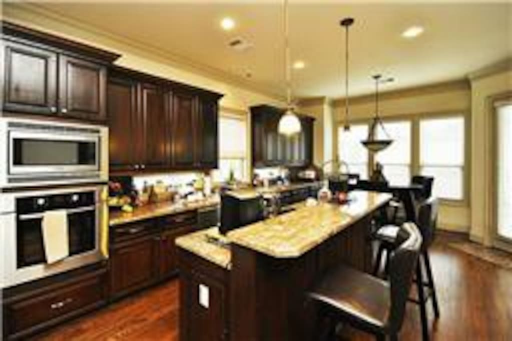 Kitchen with amenities & lots of room for entertaining!