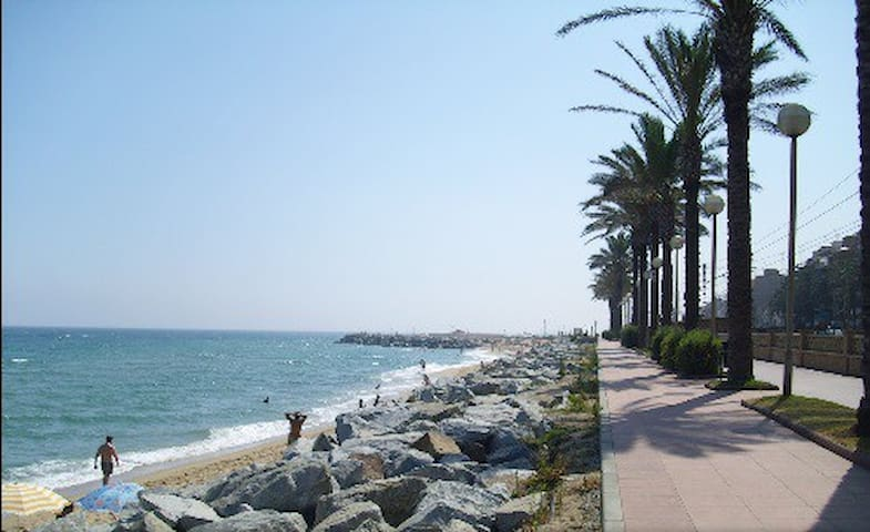 Beautiful flat near the beach and Barcelona