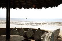 Pavilion low-tide