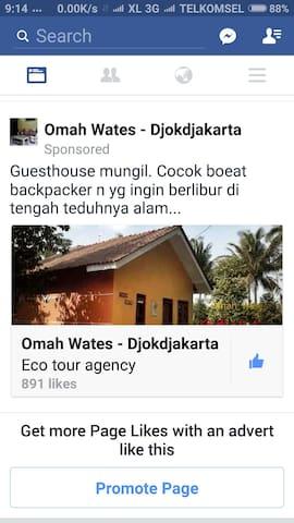 Omah Wates @Yogyakarta - kulonprogo - House