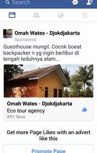 Cabin for Backpackers @ Omah Wates , Yogyakarta