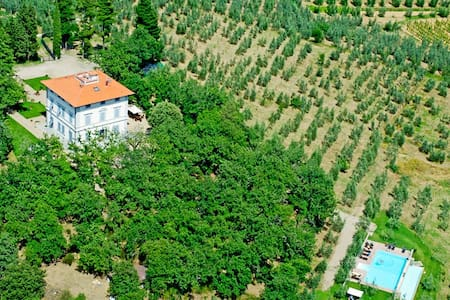 Large Villa: 2Pools, AC, near town - Cavriglia - Villa