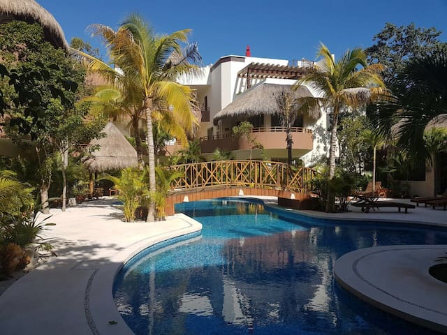 Ana's Lovely, no stairs apartment! - Tulum - Appartamento