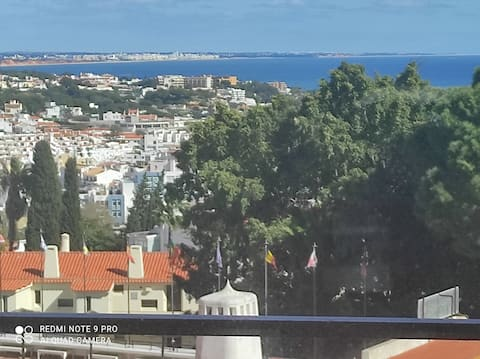 Fabulous Sea view studio near old town Albuferia