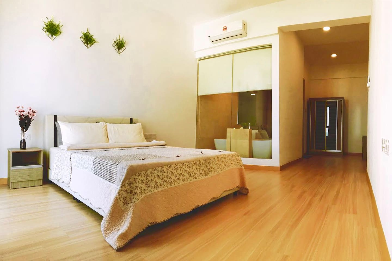 Master Bedroom with Bathroom  and Bathtub