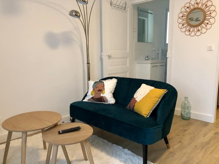 Studio cosy avec garage