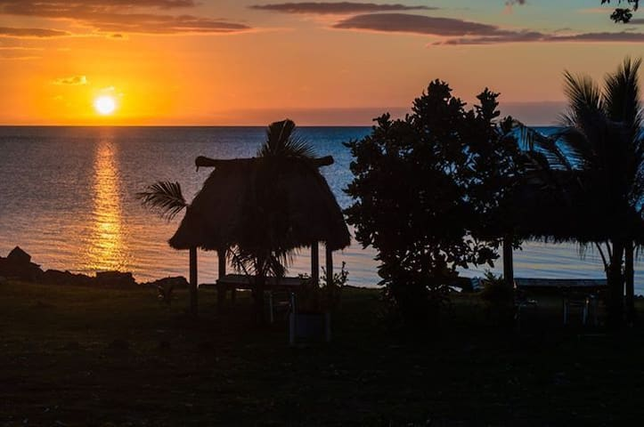 Vatia Beach Eco Lodge - Bure w/WC - Tavua - Bungalow
