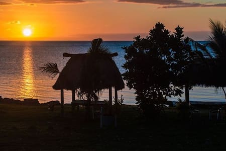 Vatia Beach Eco Resort - Bure w/WC - Tavua - Bungalow