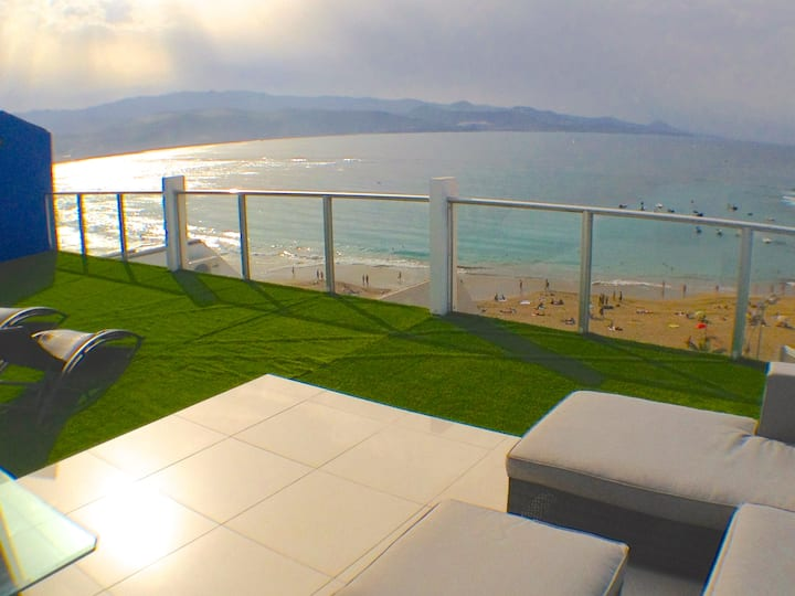 CANTERAS BEACH VIEW ATTIC-LOFT