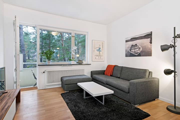 Two bedroom apartment newly renovated - Stockholm - Flat