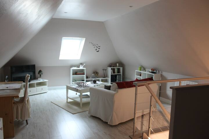 chambre d'hôte de 40 m² dans maison très calme