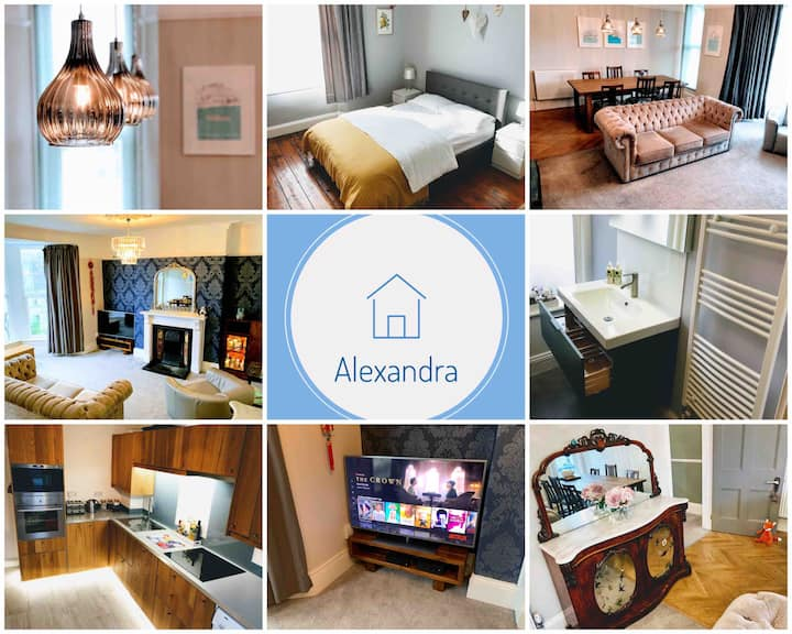 ALEXANDRA free wifi, off-street parking & Netflix