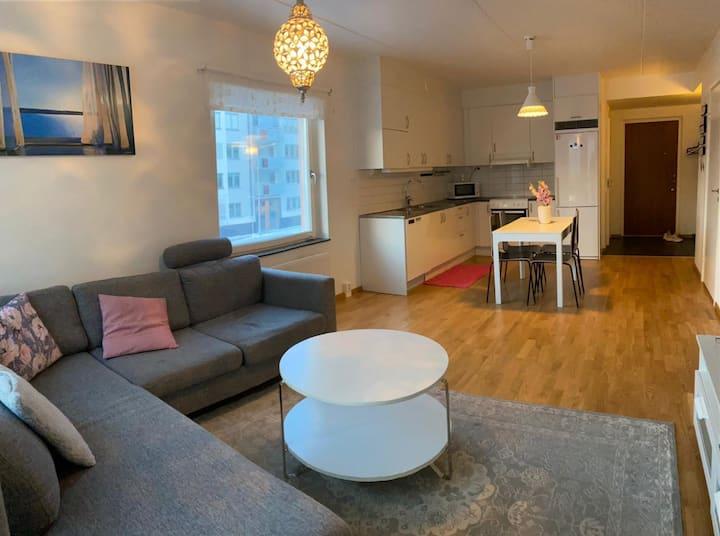 Hel lägenhet i centrala Uppsala