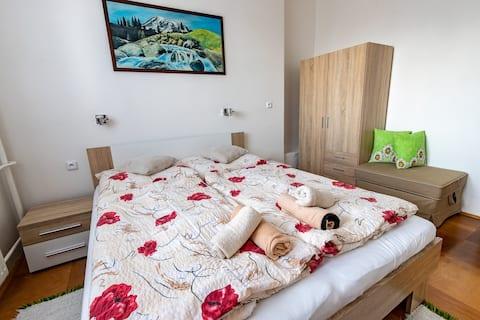 Maria Apartment, WiFi/Parking & BBQ house