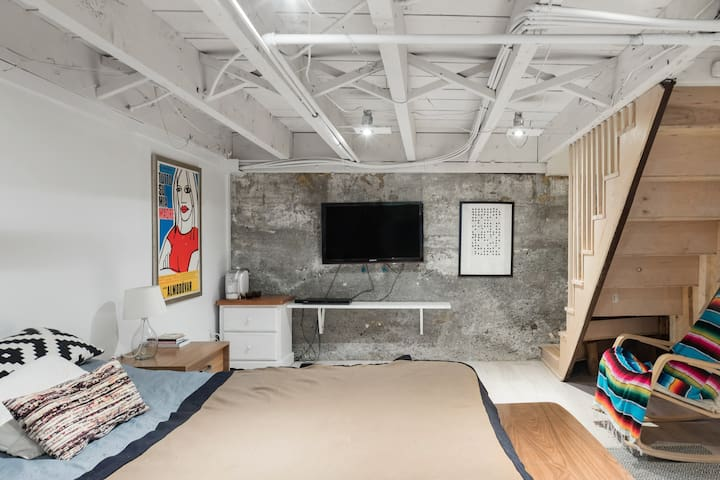 Big Room in a Villeray Basement
