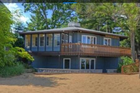 Beach House! Unique home with sandy beach frontage