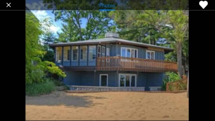 East Bay Escape— beach home with sandy frontage!
