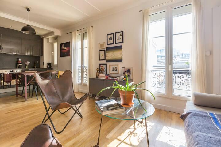 Beau loft au Cœur de Paris
