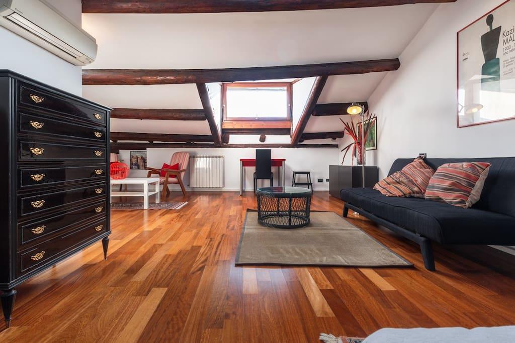 santa giustina top view appartements louer venise v n tie italie. Black Bedroom Furniture Sets. Home Design Ideas