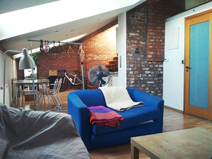 Antresola | open space 60 m2 | Kazimierz