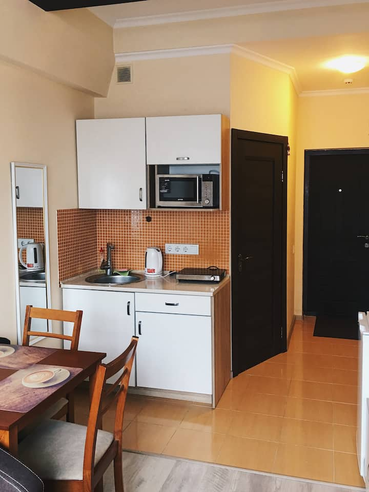 Cozy apartment on Podil in proximity to the center